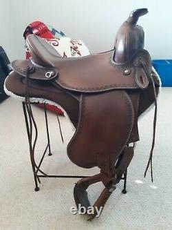 OrthoFlex Western Enduro Saddle 15 seat EUC