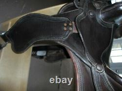 Orthoflex Western Saddle, 15, Excellent condition, Brown Leather Trail/Roping