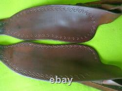 PARELLI Pair Authentic Western Saddle Replacement FENDERSLight UseHIGH QUALITY