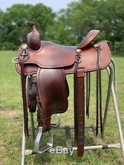 PRICE REDUCED! Used 15 Cashel Western Trail Saddle FQHB Aluminum Stirrups