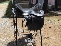 Parelli Cruiser Saddle 15.5 Super wide Black