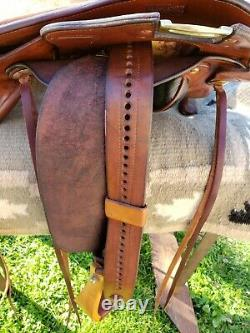 Parelli Fusion Western Horse Saddle 16 Seat FQHB Immaculate Condition