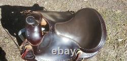 Parelli/Natural Horseman Saddles, PERFORMER Pro 17/Wide EQUIFLEX Pullman