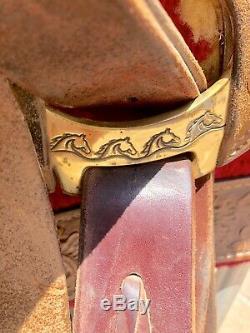 Parelli Pullman 16 Ranch Roper Premium Western Saddle
