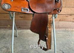 Phil Harris Custom Western Saddle 16 great for Working, Ranch, Trail/Pleasure