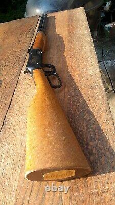 Rare DAISY 1894 Wells Fargo BB GUN withSADDLE LOOP Woodstock Western Style