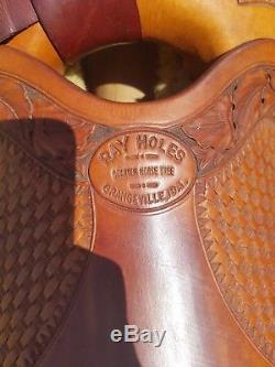 Ray Holes Western Saddle
