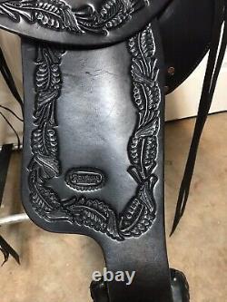 Reinsman 17 Trail Saddle with Breast Collar Western