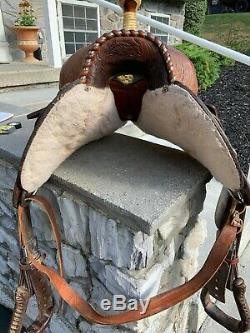 Ridge Western Ranch Cutter Horse Saddle 15