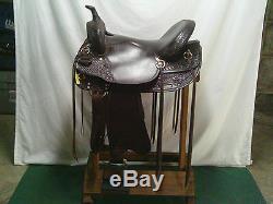 Royal King Rk 9327 Saddle 17 1/2 Western Horse Saddle 31a
