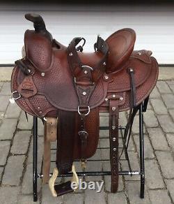 SaddleSmith Of Texas 15.5 Old Timer Ranch Roper Western Saddle