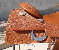 Scottsdale Western World Jordan Larson Reining Saddle Youth Ladies Fenders 16