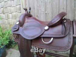 Sean Ryon Reining Saddle