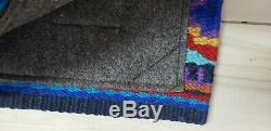 Serape Impact Gel Saddle Pad Western Wool Top Felt Bottom 36x34 1in