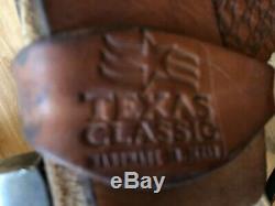 Sergeants (Silver Mesa) Western World Reining Saddle. Texas Classic. 16 inch seat