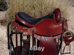 Sharon Saare Endurance Saddle DD Tree Wide 15 NO RESERVE