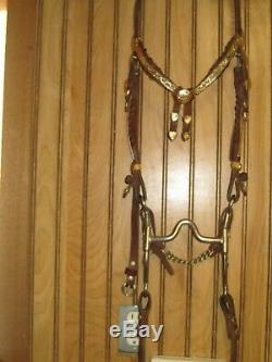 Silver Dale Chavez Western Pleasure Show Brown 16 inch Western Show Tack Bundle