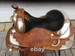 Silver Mesa 16 Western Show Saddle