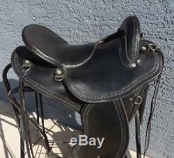 Specialized Trailmaster Endurance Saddle Black Leather 16 Fitting Cushions