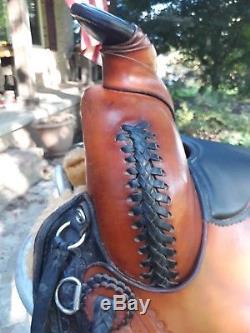 Synergist Western Trail Saddle 16