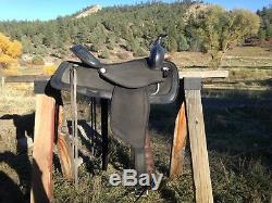 Synthetic All Around Western Saddle 15