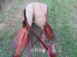THE AMERICAN Vintage Western Saddle 15