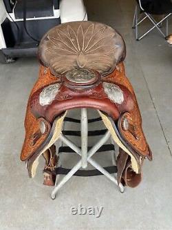 Tex Tan Western Saddle 15.5