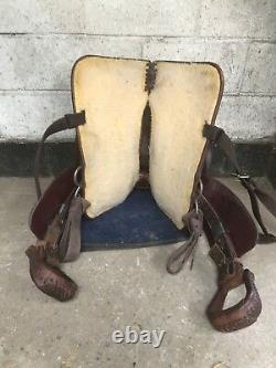 Tex Tan genuine western saddle