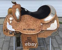 TexTan Imperial All Around AQHA 16 Trophy Western Show Saddle