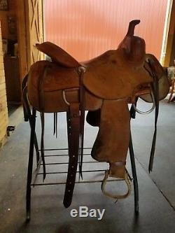 Texas Classic Work Saddle