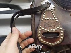 Todd Jey Ranch Cutter saddle for sale