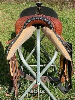 Triple Creek Barrel Saddle