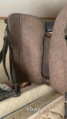 Tucker 18 Western Saddle with cushion padded seat used but plenty of life