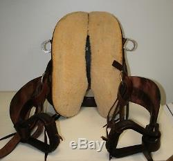 USED Big Horn Endurance Saddle (Model 804) 18 seat