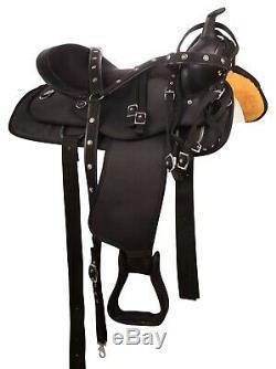 Used 14 15 16 17 18 Western Pleasure Trail Barrel Show Horse Saddle Tack Set