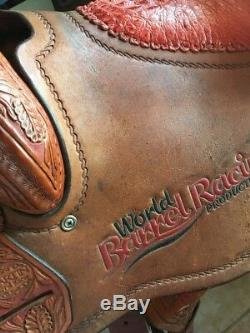 Used 14 Trophy Barrel Racer Saddle by Martin Saddlery