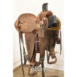 Used 15 Steve Stikes Ranch Saddle Code U15SSIKESRANRO