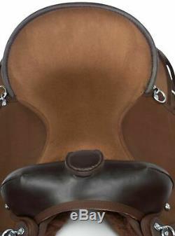 Used 16 All Purpose Western Pleasure Trail Comfy Cordura Horse Saddle