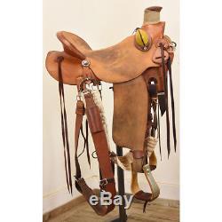 Used 16 Mccall Mclite Wade Ranch Saddle Code C16MCCALLMCLITE