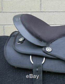 Used 16 Pleasure Trail Riding Western Cordura Comfy Horse Saddle Tack Set