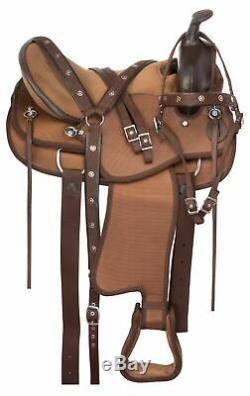 Used 16 Western Light Weight Pleasure Trail Show Barrel Horse Saddle