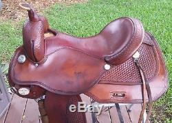 Used 17 Circle Y Team Penning Saddle