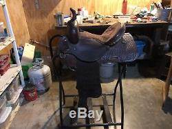 Used Barrel Saddle 13.5