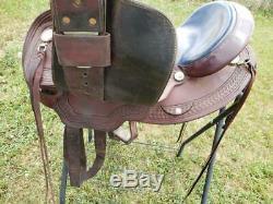 Used Circle Y Arab Western Trail Saddle 250-992