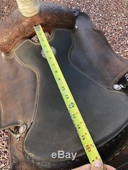 Used Martin Saddlery 16 Roping Ranch Saddle Handmade