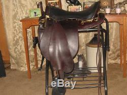Used Tucker Trooper Saddle Western Riding Endurance Pleasure