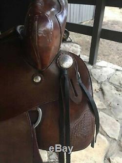 Used Western Ortho Flex horse saddle