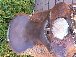 Victor Supreme Hand Made Western Show Saddle (pt)
