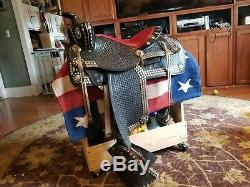 Vintage 15 Simco Western Parade Saddle