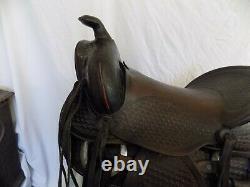 Vintage Bona Allen Western Saddle